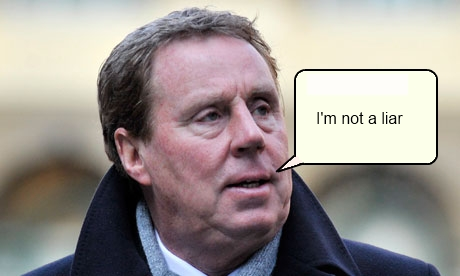 Harry Redknapp - Not a liar