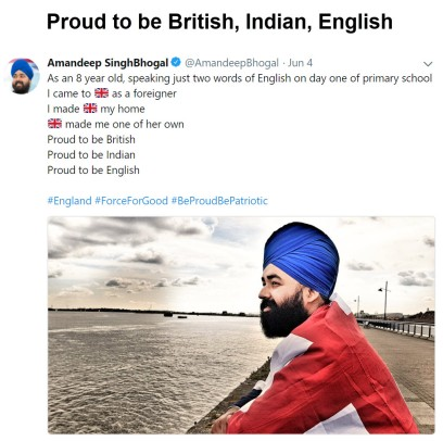 ProudToBeEnglish
