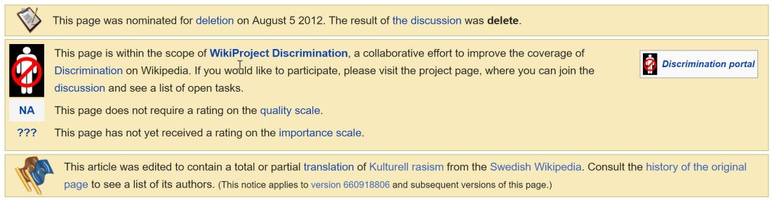 WIkipedia-CulturalRacismDiscussion